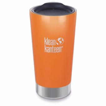 Klean Kanteen Vacuum Insulated Tumbler 16oz Cafe 2.0 (CanyonOrange)