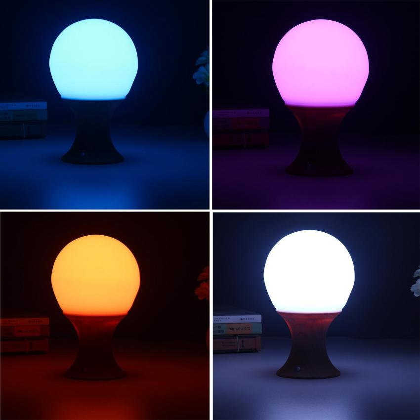 Colorful mushroom led push touch kid bedroom night light for Bedroom night light
