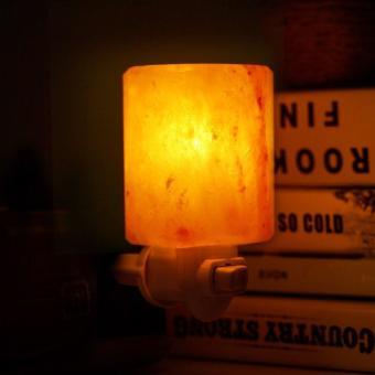 Himalayan Salt Lamp In Nursery : leegoal Natural Himalayan Salt Night Light With Bulb Plug-in Wall Night Lamp, Air Ionizer ...