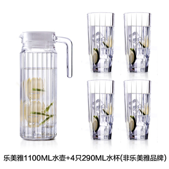Luminarc glass home cool water pot cold water pot