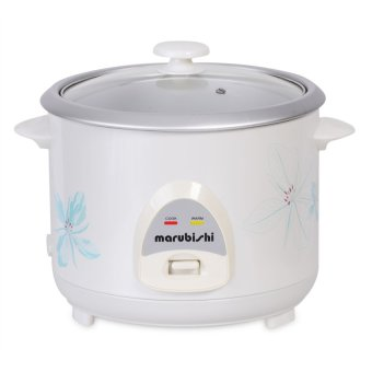 Marubishi Rice Cooker 10 Cups with Steamer MRC 110 (White)