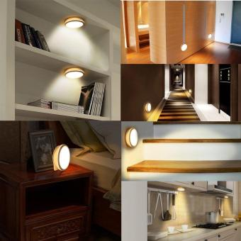 Motion Sensor Light, Rechargeable LED Night Light, Stick-anywhereCloset Lights Stair Lights, Safe Lights for Hallway, Bathroom,Bedroom, Kitcheness for Closet Stairwells Bedroom Nursery - intl