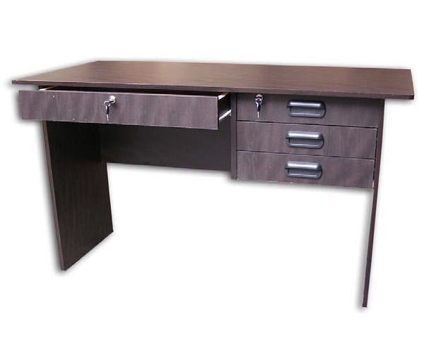 MyHomeIFC Marcus Office Table (Wenge) | Lazada PH