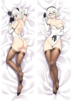 NieR:Automata 2B Anime Dakimakura Case Cushion lovelive HuggingBody Japan Pillow Cover - intl