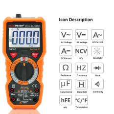 ... Auto Digital Multimeter 6000 Counts Backlight AC/DC Transform Ohm Ammeter Resistance Capacitance Temperature Tester Meter - intlPHP1152. PHP 1.189