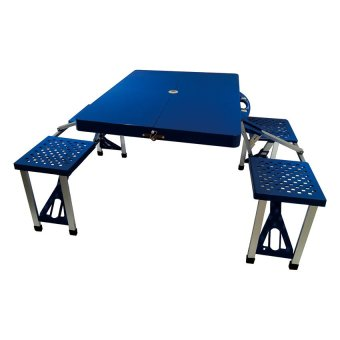 Portable Folding Table (Blue) product preview, discount at cheapest price