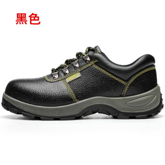 Safety casual leather welding work protective shoes safety shoes