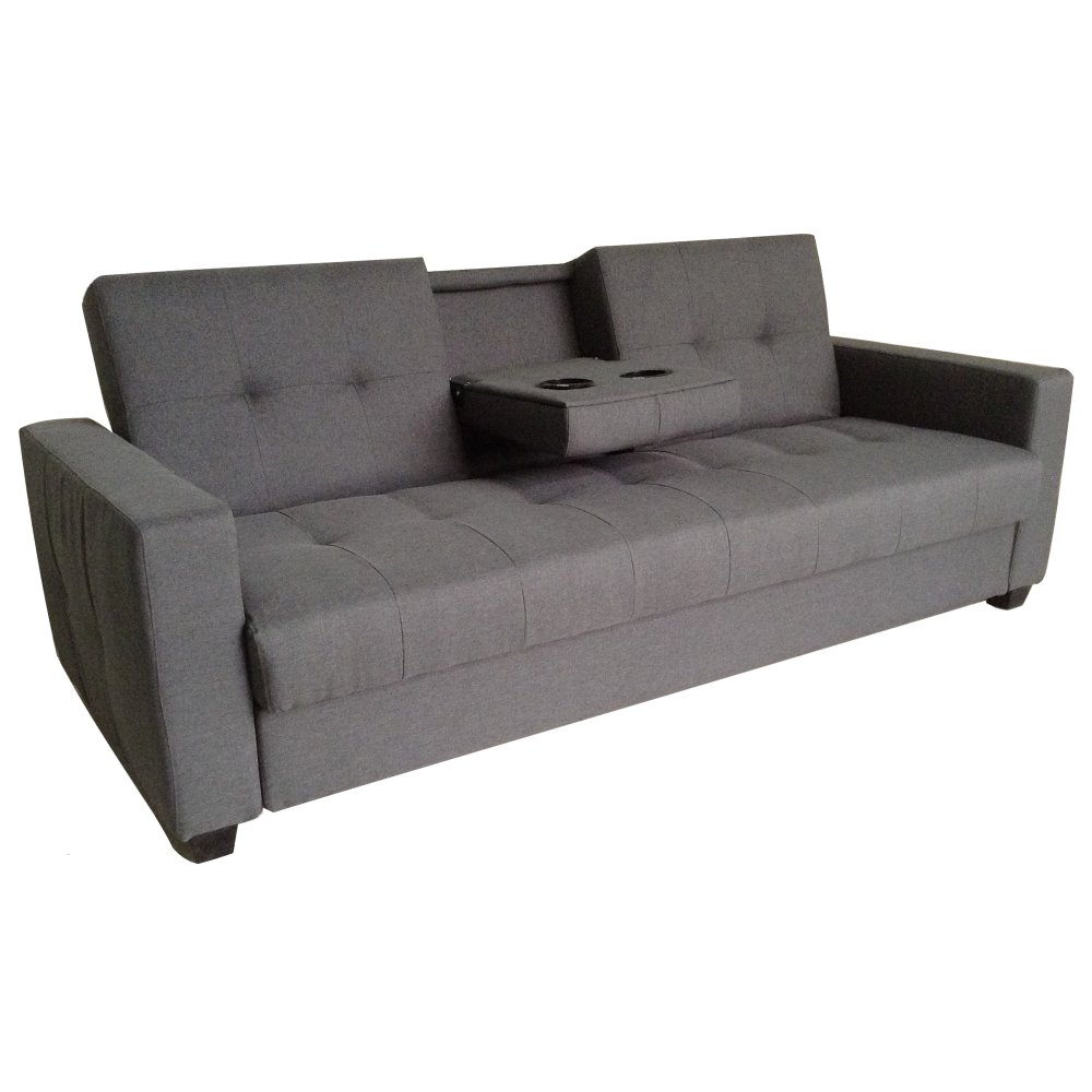 Baby bed olx - Sigma Rc 80626 Home Cinema Sofa Bed With Console Table Grey