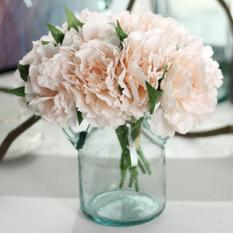 Simulation Diy Tiffany Blue Peony Bouquet Artificial Flowers Home Decor Intl