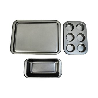 Slique Non-stick Bakeware Set of 3