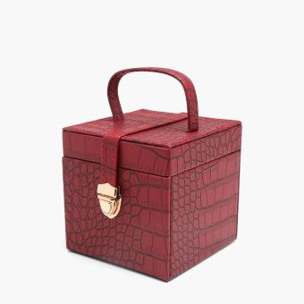 SM Accessories Ladies Jewelry Box (Red)