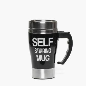 SM Accessories Self-stirring Mug (Black)