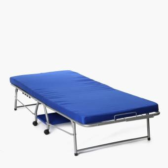 Sm Home Chateaux Folding Bed Blue Lazada Ph