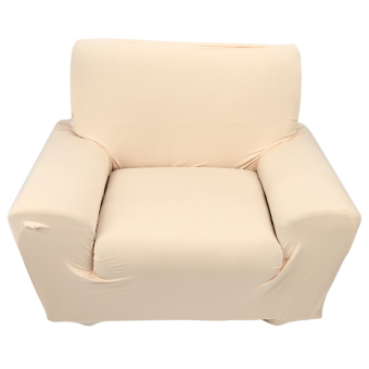 stretch couch sofa slipcover protector beige intl
