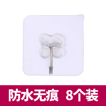 Strong traceless wall suction adhesive hook viscose adhesive hook