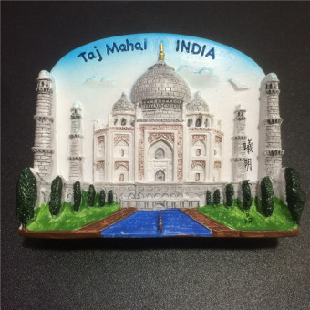Taj Ling dimensional collection magnetic resin fridge magnet