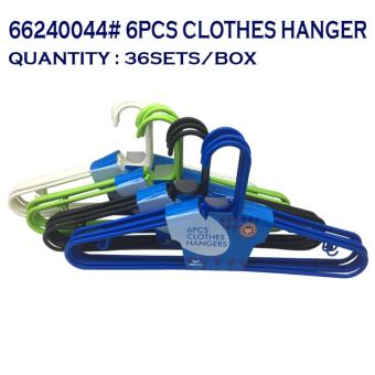TOP STANDARD AMERICAN CHOICE 66200044 CLOTH HANGER (6 PCS ) 2 sets