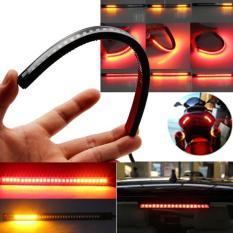 PHP 567. Universal Flexible 32 LED Motorcycle ATV Tail Brake Stop Turn Signal Strip Light ...
