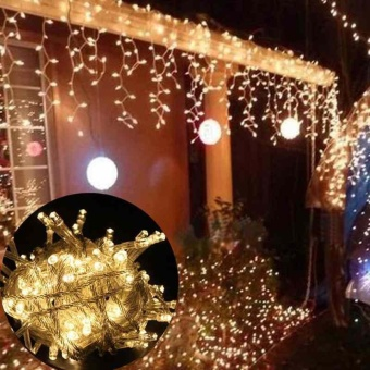 US Plug 10M 100 LED beads string lights LED lantern light stringChristmas Decoration Fairy String Light Warm White - intl