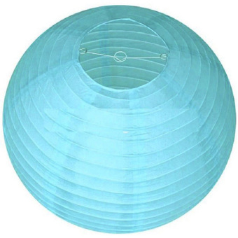 Velishy Chinese Paper Lantern (Blue) - picture 2