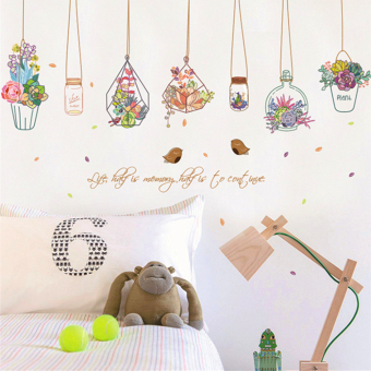 Warm school dormitory decorative stickers bedroom bedside backdrop wall adhesive paper