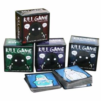 1 Box Kille Game Q Version Kill Card Game Family Friends Party Board Game - intl