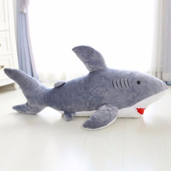 80cm Cute Sharks Plush Stuffed Animals Doll Toys For Kids Gifts - intl