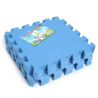 9-pieces Puzzle Floor Foam Mats (Blue)