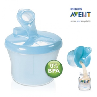 AVENT MILK DISPENSER BPA FREE SNACK CUP ( BLUE )