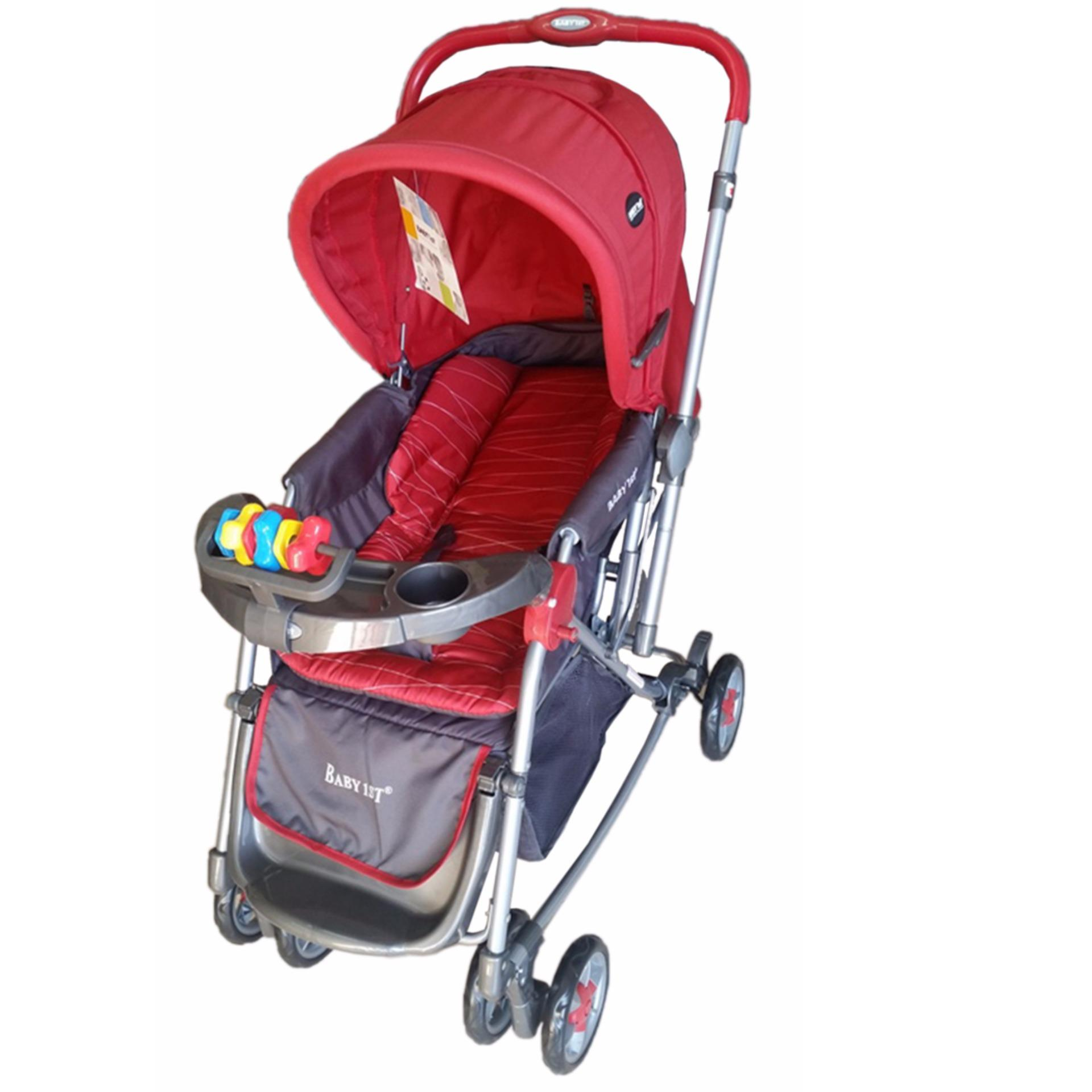 Rocking crib for sale philippines - Baby 1st Stroller With Rocking Feature Red