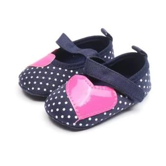 Babyzone Pre-walker Shoes for Baby Navy Blue 6 to 12 Months Old