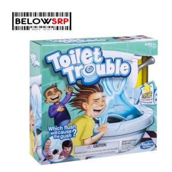 Below SRP Toilet Trouble Party Game