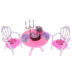 PHP 650 BolehDeals Luxury Plastic Furniture Play Set for Barbie Dolls House  ... 29e30c42be