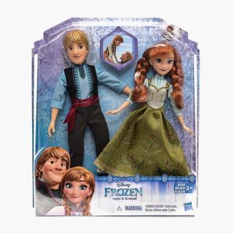 Disney Frozen Anna and Kristoff Fashion Doll