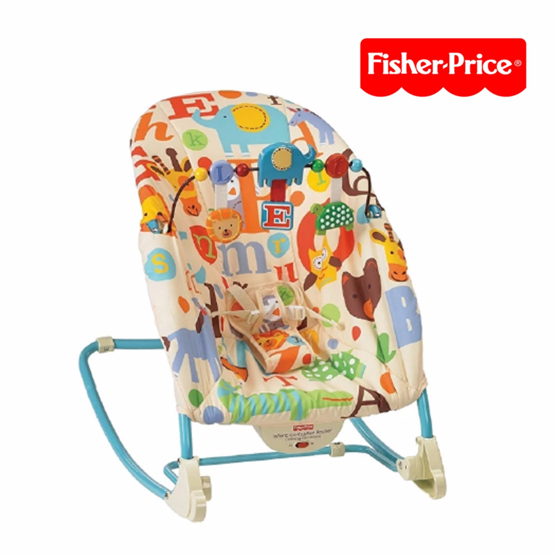 Crib for sale bacolod - Fisher Price Infant To Toddler Alphabet Rocker