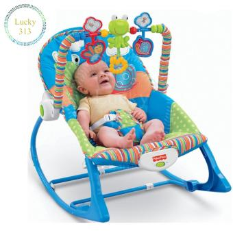 Fisher-Price Infant To Toddler Bunny Baby Rocker (Blue)
