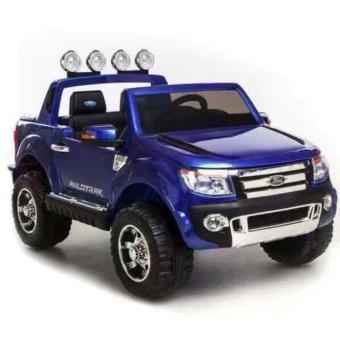 FORD RANGER 4WD KID'S RIDE ON CAR, BATTERY POWERED, REMOTE CONTROL,W/FREE MP3 PLAYER - BLUE