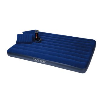 Intex Queen Airbed Blue Downy