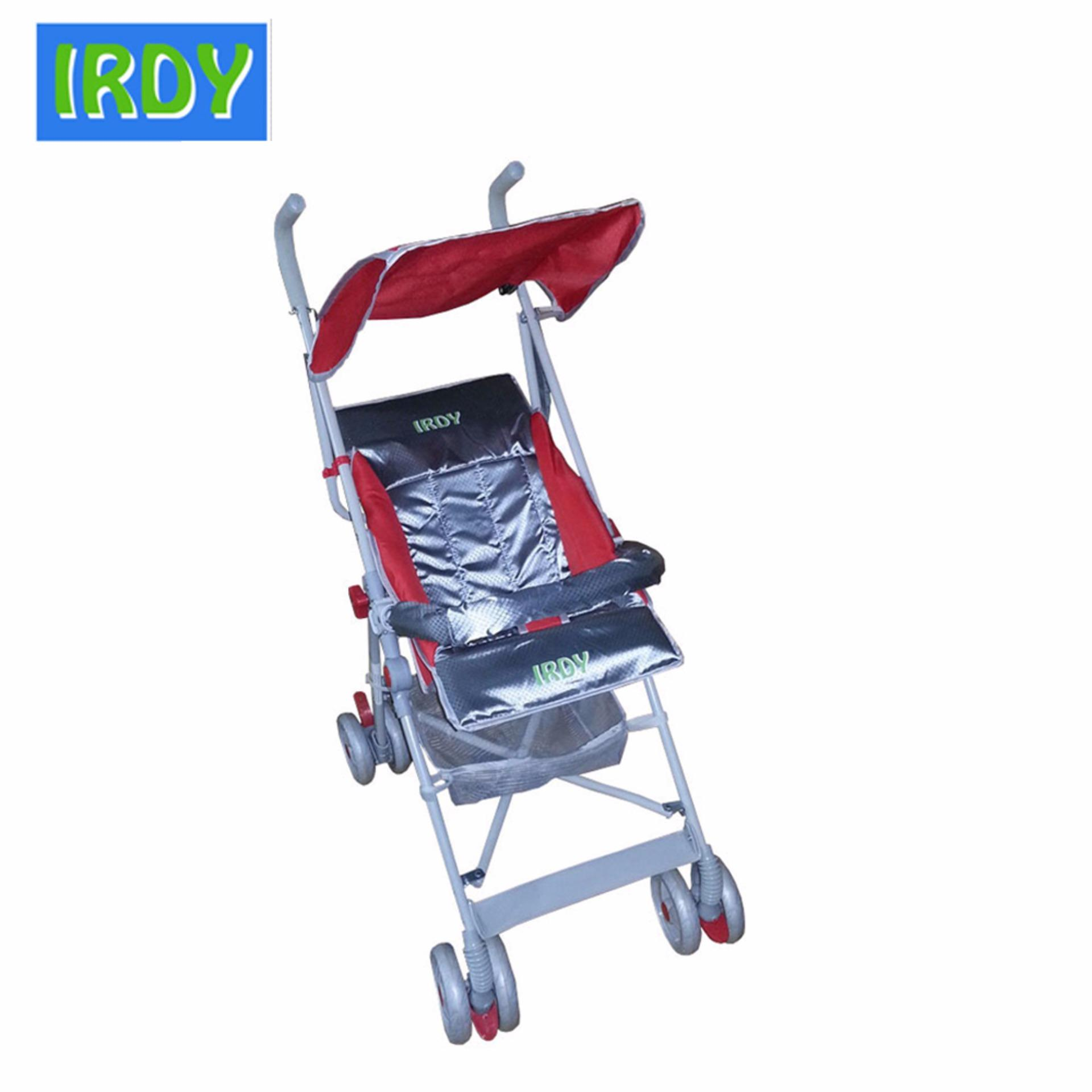 Crib for sale bacolod - Irdy S 770ab 2 Way Umbrella Stroller With Safety Bar Red