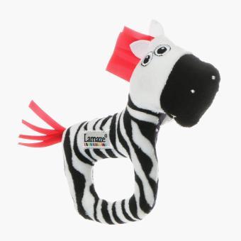 Lamaze Zebra Rattle
