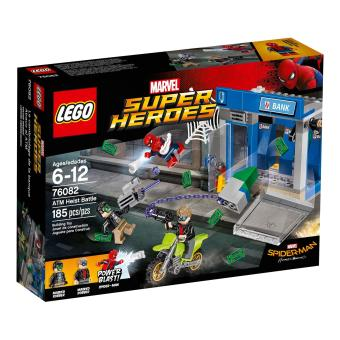 LEGO Super Heroes ATM Heist Battle