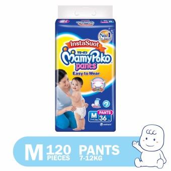 MamyPoko Easy to Wear Diaper Pants Medium 20's, Pack of 6