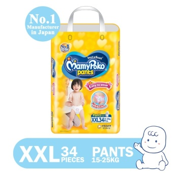 MamyPoko Pants Easy to Wear Diaper XXL 34's