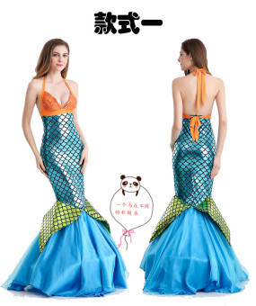 Mermaid Halloween adult women costume