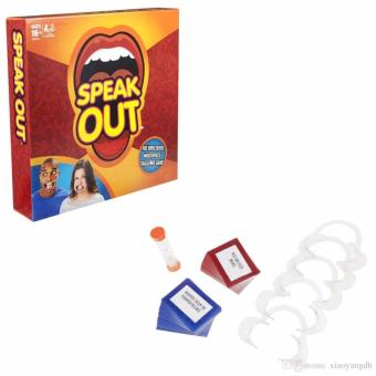 MG Hot Speak Out Mouthpiece Board Game Party Challenge Friends Game