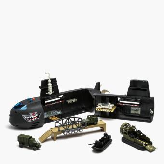 Micro Soldiers Submarine Playset
