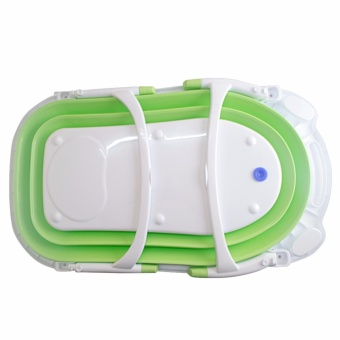 MMC Baby Folding Bath Tub Green