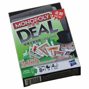 Monopoly Deal Card Game - New