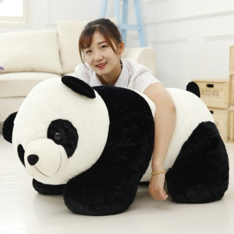 Panda Dolls Plush Toys Puppet Pillow Holding Bear Big DollValentine's Day Gift to Send His Girlfriend (70CM) - intl