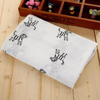 Premium Soft Baby Muslin Swaddle Bamboo Cotton Blanket